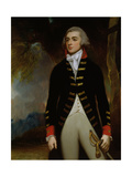 Portrait of John Richard West (1758-95) 4th Earl De La Warr, 1790 Giclee Print by George Romney