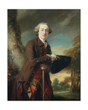Portrait of Charles Colmore, C.1760-65 Giclee Print by Francis Cotes