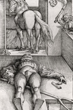 Sleeping Groom and Sorceress, 1544 Photographic Print by Hans Baldung Grien