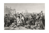 The Massacre at Cawnpore in 1857, from 'The History of the Indian Mutiny' Published in 1858 Giclee Print by  English School