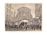 Temple Bar in Fleet Street, C.1870 Giclee Print by Edward Henry Fahey