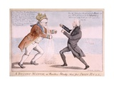 A Boxing Match Or, Another Bloody Nose for John Bull Giclee Print by William Charles