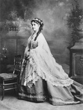 Adelina Patti (1843-1919) C.1875 Photographic Print by  Reutlinger Studio