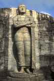 Standing Buddha, Gal Vihara Photographic Print
