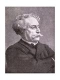 Alexandre Dumas Fils (1824-95) 1886 Giclee Print by Leon Joseph Florentin Bonnat