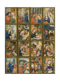 Life of the Virgin, from the 'Stein Quadriptych' Giclee Print by Simon Bening