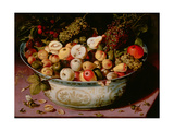 Still Life with Fruit Bowl Giclee Print by Osias The Elder Beert