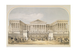 The British Museum, 1853 Giclee Print by Augustus Butler
