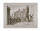 View of Warwick House, Engraved by Samuel Rawle (1771-1860) and Published by John Booth… Giclee Print by Charles Warren