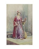 A Harem Musician, 1888 Giclee Print by Alexina MacRitchie