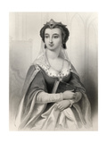 Valentina Visconti (1371-1408) Illustration from 'World Noted Women' by Mary Cowden Clarke, 1858 Giclee Print by Pierre Gustave Eugene Staal