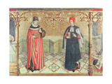 St. Cosmas and St. Damian Giclee Print by Jaume Huguet