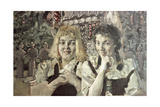 Hansel and Gretel, 1896 Giclée-Druck von Mikhail Aleksandrovich Vrubel