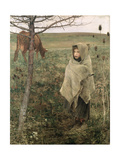 Poor Fauvette, 1881 Giclee Print by Jules Bastien-Lepage