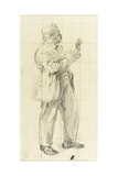 Portrait of a Man Giclee Print by Henry Tonks
