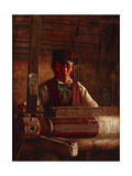 Willy Wastle the Weaver Giclee Print by Ebenezer Crawford