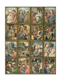 The Life of Christ, from the 'Stein Quadriptych' Giclee Print by Simon Bening