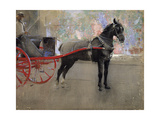 Le fleuriste Impression giclée par Joseph Crawhall