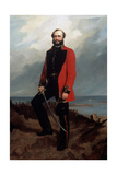 Major-General Charles Ashe Windham (1810-70) Coldstream Guards Giclee Print by Charles Couzens