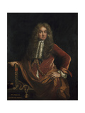 Portrait of Elias Ashmole Giclee Print by John Riley