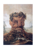 Anthropomorphic Landscape Giclee Print by Joos or Josse de, The Younger Momper
