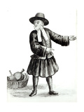 The Merchant Giclee Print by Jan van Grevenbroeck