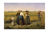 The Reapers, 1860 Giclee Print by Jules Breton