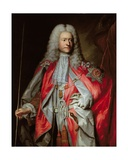 Posthumous Portrait of Sir Paul Methuen K.B. (D.1757) Giclee Print by Adrien Carpentiers