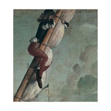 Man Astride a Mast with Furled Sail, from St. Ursula Cycle, 1490 Giclee Print by Vittore Carpaccio