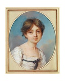 Amandine Aurore Lucile Dupin (1804-76) as a Child, C.1809 Giclee Print by Aurore Dupin de Francueil