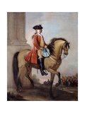 Brigadier and Lieutenant Richard Gifford (D.1738/1739) C.1727 Giclee Print by Bartholomew Dandridge