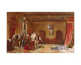 The Assassination of Henri De Lorraine (1549-88) Duc De Guise, 1834 Giclee Print by Hippolyte Delaroche