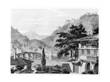 Town of Berat in Early 19th Century, from 'travels in Sicily, Greece and Albania' by Thomas Smart… Giclee Print by Charles Robert Cockerell