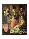 Madonna and Child, C.1535 Giclee Print by Bernard van Orley
