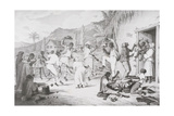 Negro Dance, from 'West India Scenery with Illustrations of Negro Character', Printed by R.… Giclee Print by Richard Bridgens