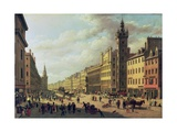 The Trongate, Glasgow, 1826 Giclee Print by John Knox