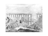 Aqueduct at Cherchell in Algeria, from 'travels in the Footsteps of Bruce', 1877 Giclee Print by James Bruce