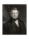 James Copland, Engraved by J. Brain, from 'The National Portrait Gallery, Volume III', Published… Giclee Print by Henry Room