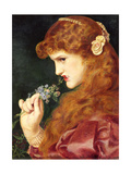 Love's Shadow, 1867 Giclee Print by Anthony Frederick Augustus Sandys