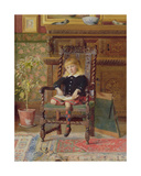 The Story Book Giclee Print by William Alexander