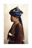 Mohamed, a Jemadar of the 5th Bengal Cavalry, 1889 Giclee Print by Vereker Monteith Hamilton
