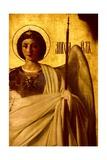 Detail of the Iconostasis Depicting the Archangel St. Michael, 1861 Wydruk giclee autor Evgraf Sorokine