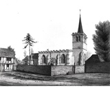 An English Church Photographic Print by Thomas Fisher