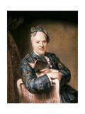 Portrait of Pierre Lois Laideguive, 1760s Giclee Print by Maurice Quentin de La Tour