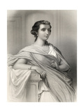 Aspasia of Milet (C.470-410 BC) Illustration from 'World Noted Women' by Mary Cowden Clarke, 1858 Giclee Print by Pierre Gustave Eugene Staal
