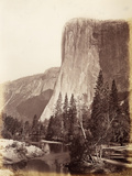 El Capitan, Yosemite National Park, Usa, 1861-75 Photographic Print by Carleton Emmons Watkins