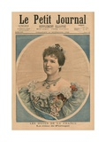 French Hosts, Queen Amelie of Portugal (1865-1951) Front Cover Illustration from 'Le Petit… Giclee Print by Fortune Louis Meaulle