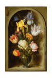 Still Life with Flowers and Insects Giclee Print by Ambrosius The Elder Bosschaert