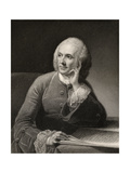 William Hunter, Engraved by J. Thompson, from 'The National Portrait Gallery, Volume II',… Giclee Print by Robert Edge Pine