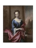 Portrait of Mary Calverley, Lady Sherard, C.1696 Giclee Print by Godfrey Kneller